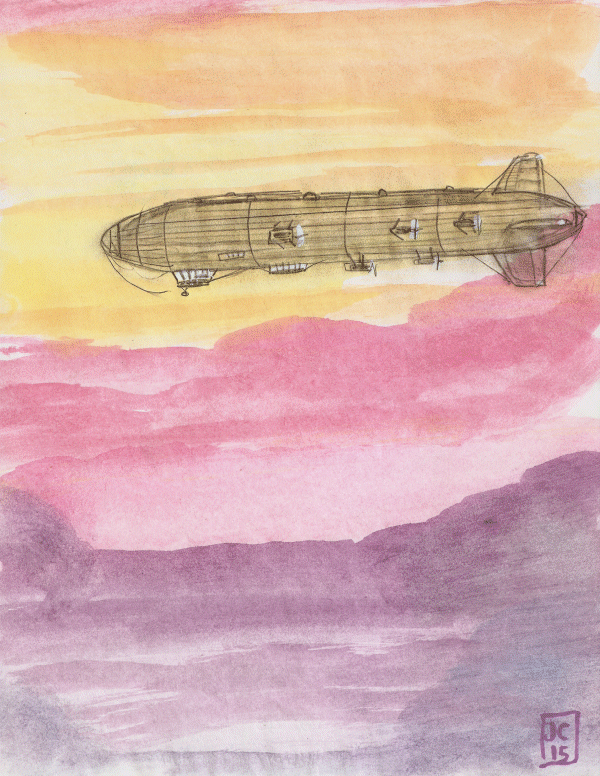 "Airship: ""Lady Grace of Avon"" - by Jerry Collins"