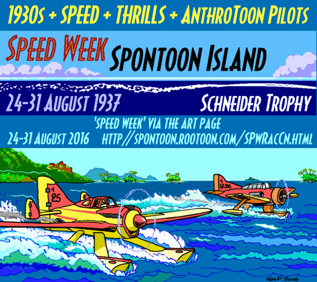 """Speed Week"" notice for 2016 - by Ken Fletcher"